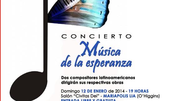 Un concierto en Mariápolis
