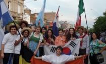 Fiesta de las colectividades en Chacabuco