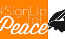 #SignUpForPeace – Firma por la paz