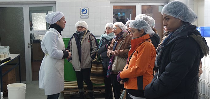 Visita del Centro Educativo Agrario N 9