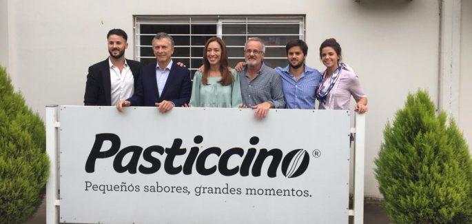 Macri y Vidal visitaron la fábrica Pasticcino