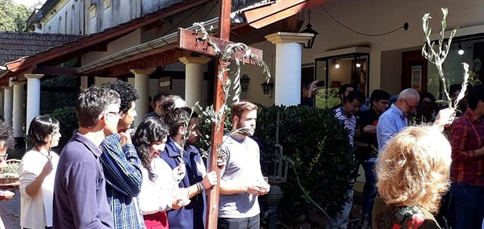 Triduo Pascual en la Mariápolis