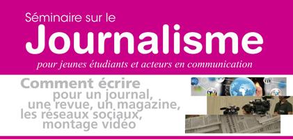 Séminaire de formation sur le journalisme
