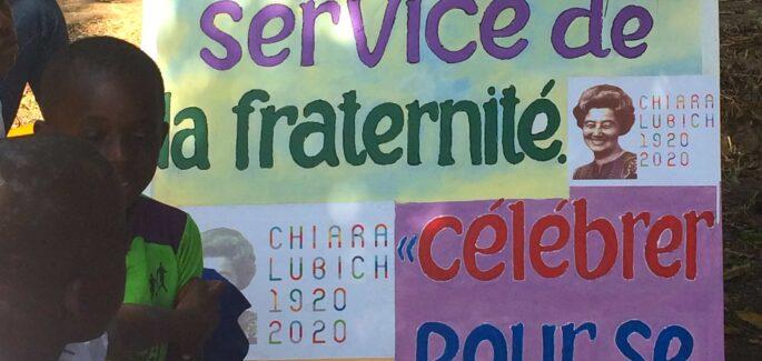 En fête pour le centenaire de naissance de maman Chiara !