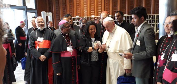 Inesperado video-mensaje del Papa Francisco