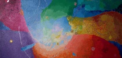 Quadro di Gabriele Marsili: Cielo e terra