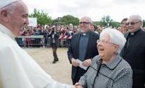 Papież Franciszek na Mariapoli