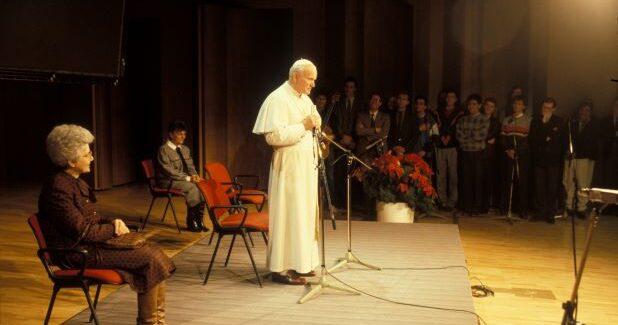 Wizyta Jana Pawła II w Centrum MariapoliCastel Gandolfo