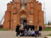 Przed Sanktuarium Matki Bożej – Królowej Polesia