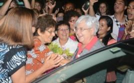 Maria Voce et Giancarlo Faletti au Brésil