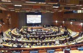 Maria Voce bei der UNO