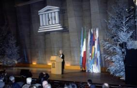 "At UNESCO – ""Reinventing peace"""
