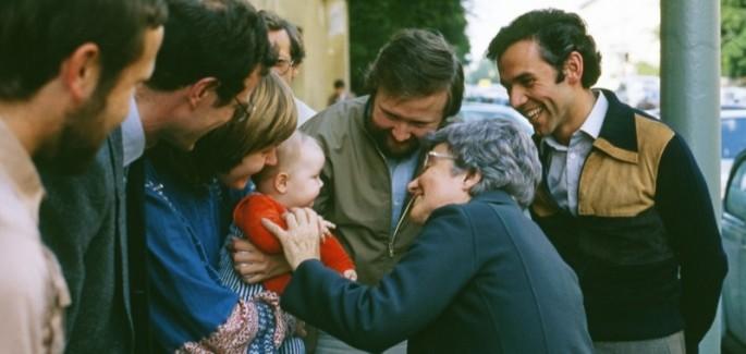 Chiara Lubich e a família