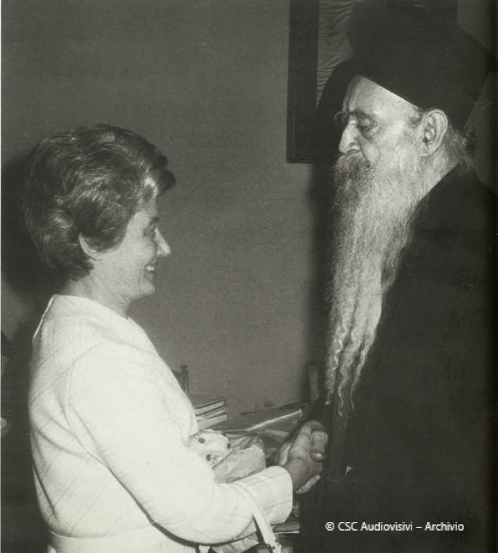 Atenágoras I y Chiara Lubich