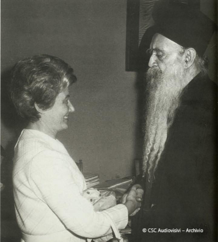 Athénagoras I et Chiara Lubich