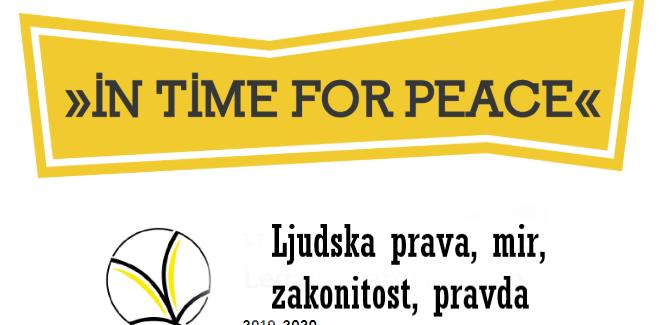 Druga staza: na vreme za mir