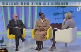 TV2000 intervista Jesús Morán e Patience Mollè Lobè su Chiara Lubich
