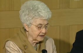 "Chiara Lubich: ""Liberty, equality… whatever happened to fraternity?"""