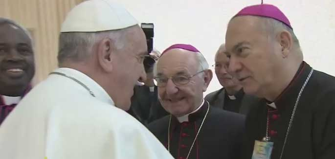 Pope Francis to the Bishop-Friends of the Focolare