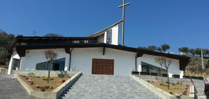 "New Ave Centre church in Calabria & ""Dialogue in Architecture"" conference in Barcelona"