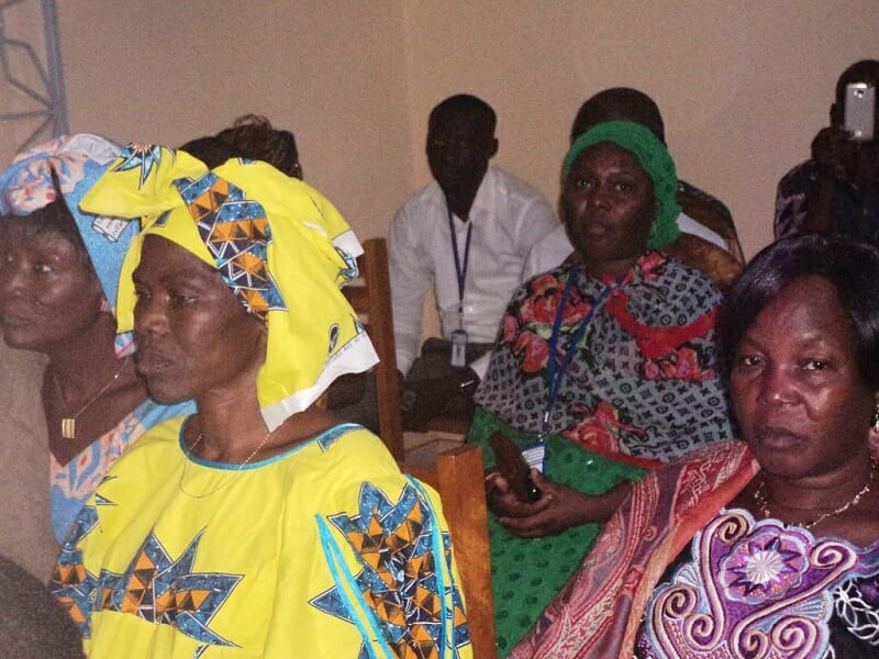 Formation pour la lutte contre la maladie à virus Ebola  au focoolare féminin