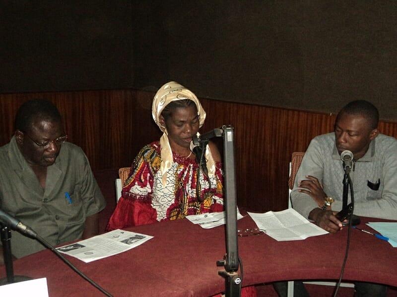 Sensibilisation à la radio national du Burkina
