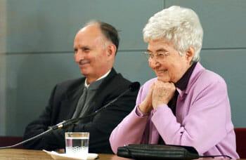 Pasquale Foresi con Chiara Lubich
