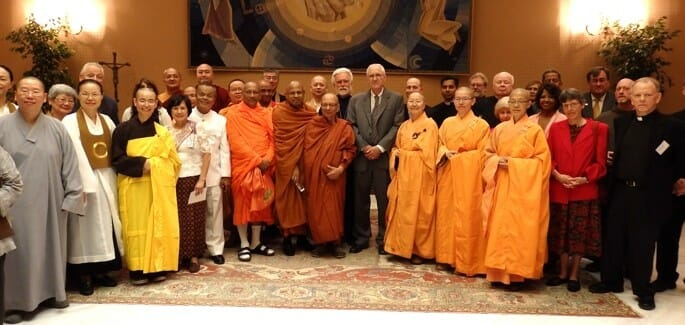 Seeds of Peace: US Buddhists and Christians come together in spirit of dialogue