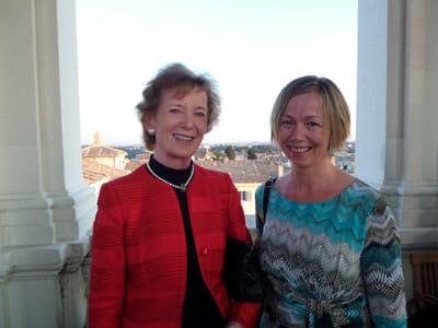 Mary Robinson, Lorna Gold