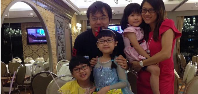 Une famille à Hong-Kong