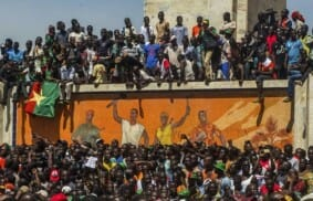Burkina Faso in an unstable political situation