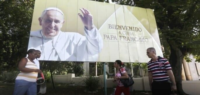 Francis in Cuba, demolishing walls and building bridges