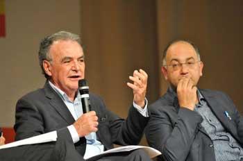 Luigi Bobba, sottosegretario Ministero del Lavoro - Luigino Bruni, economista