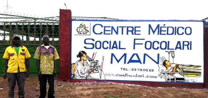 Ivory Coast: inauguration of the new Medical Centre in Man