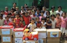 Tailandia: Llegó la escuela a Mae-Sot