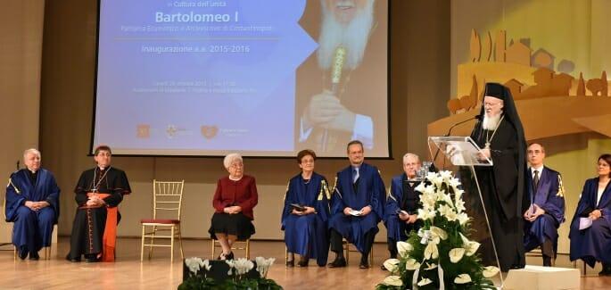 Bartholomew I, master of the Culture of Unity