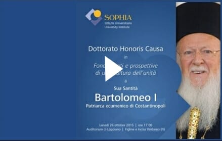 Honorary doctorate to be conferred on Patriarch Bartholomew – Watch live streaming