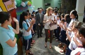 Vietnam: una scuola di periferia