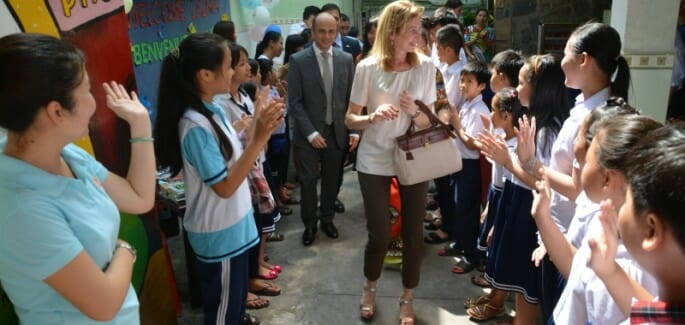 Vietnam: a suburban school
