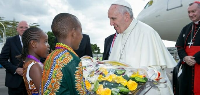 Kenya, first leg of Pope Francis's African journey