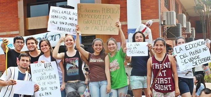 Paraguay: the long spring of the students