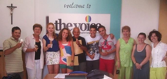 "Malta: a visit to ""the Voice School of English"""