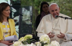 Pope Francis: You transform the deserts into living forests