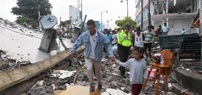 Erdbeben in Ekuador