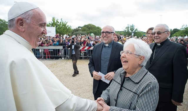 Pope Francis at the Mariapolis