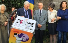 Viterbo: Jardim dedicado a Chiara Lubich