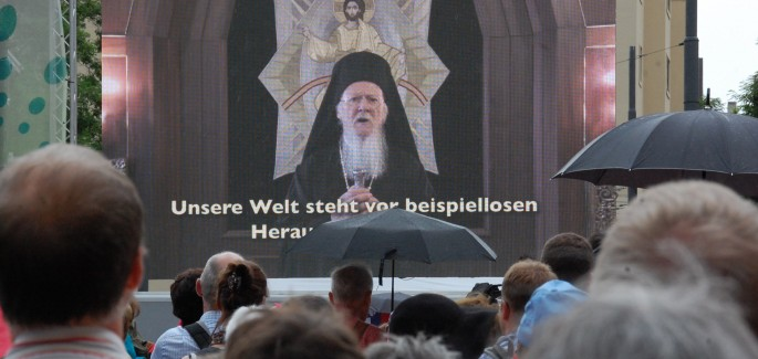 Video message from Patriarch Bartholomew for Together for Europe