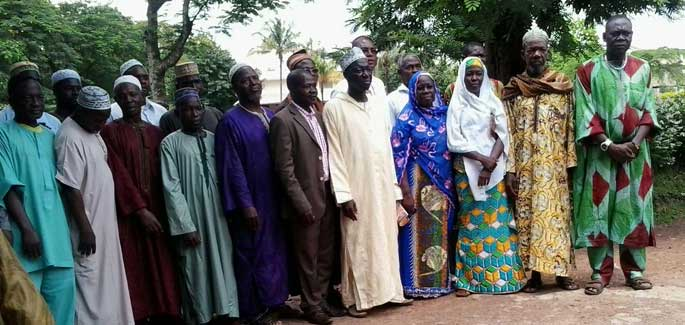 Em Man, Costa do Marfim, os Dias da Misericórdia