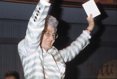 Chiara Lubich, Brasile 1991 -© Centro S. Chiara Audiovisi