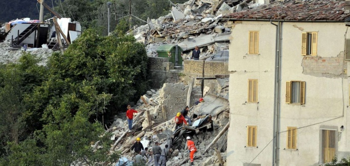 Earthquake Emergency in Central Italy